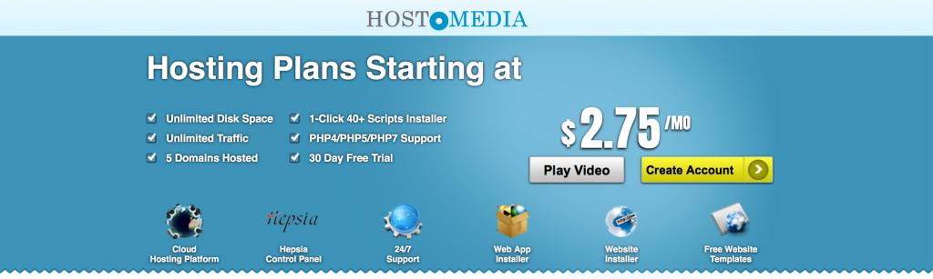 Premium Web Hosting from Hostomedia